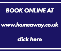 Book online at homeaway and pay with creditcard!